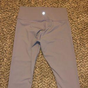 Lululemon Cropped Lavender Leggings s 12 new
